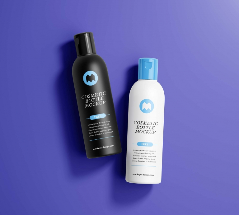 Download Free Cosmetics Bottle Mockup (PSD) Free Mockups