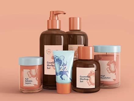 Cosmetics Mockup PSD