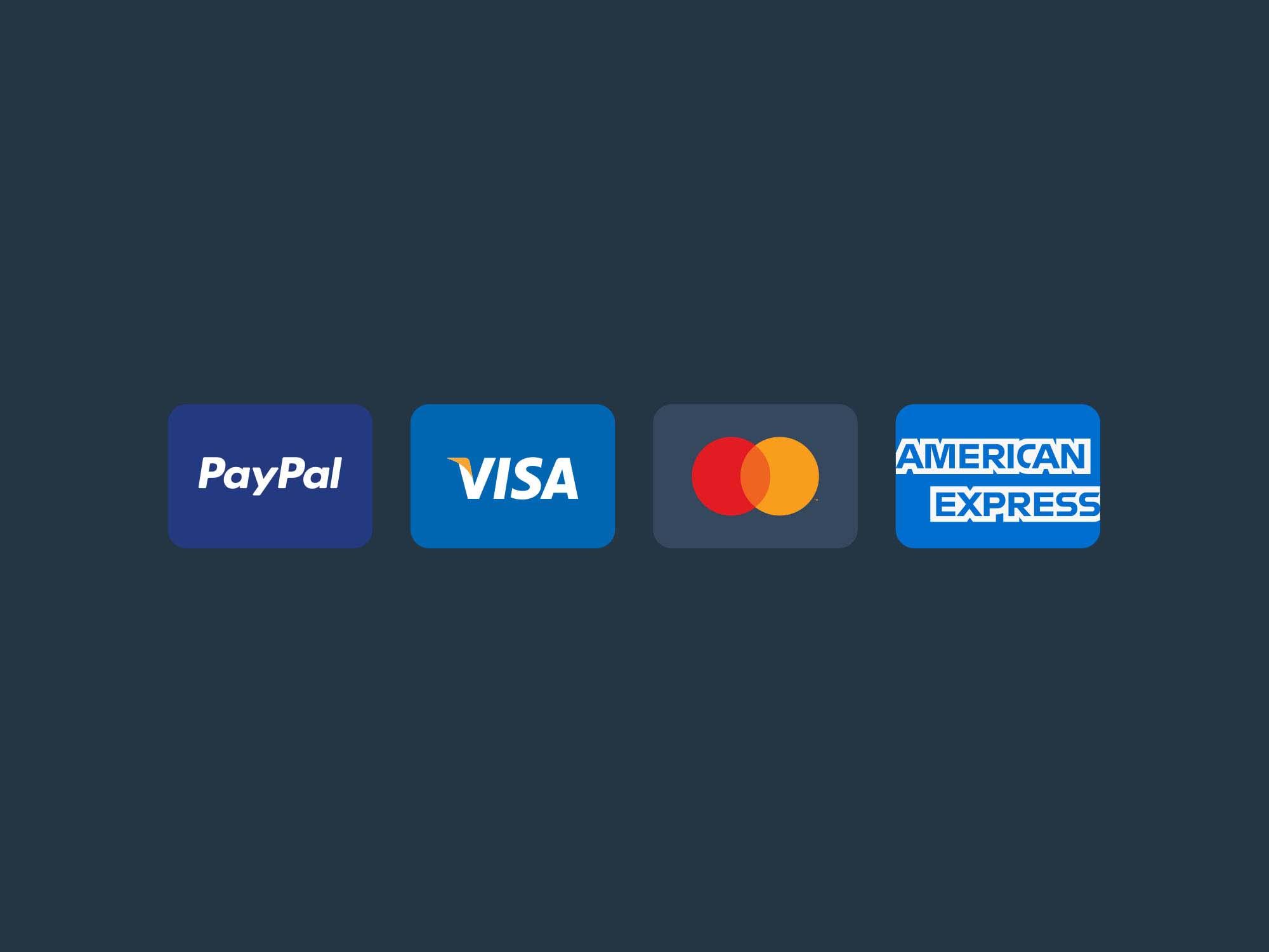 11 Free Minimal Vector Credit Card Icons