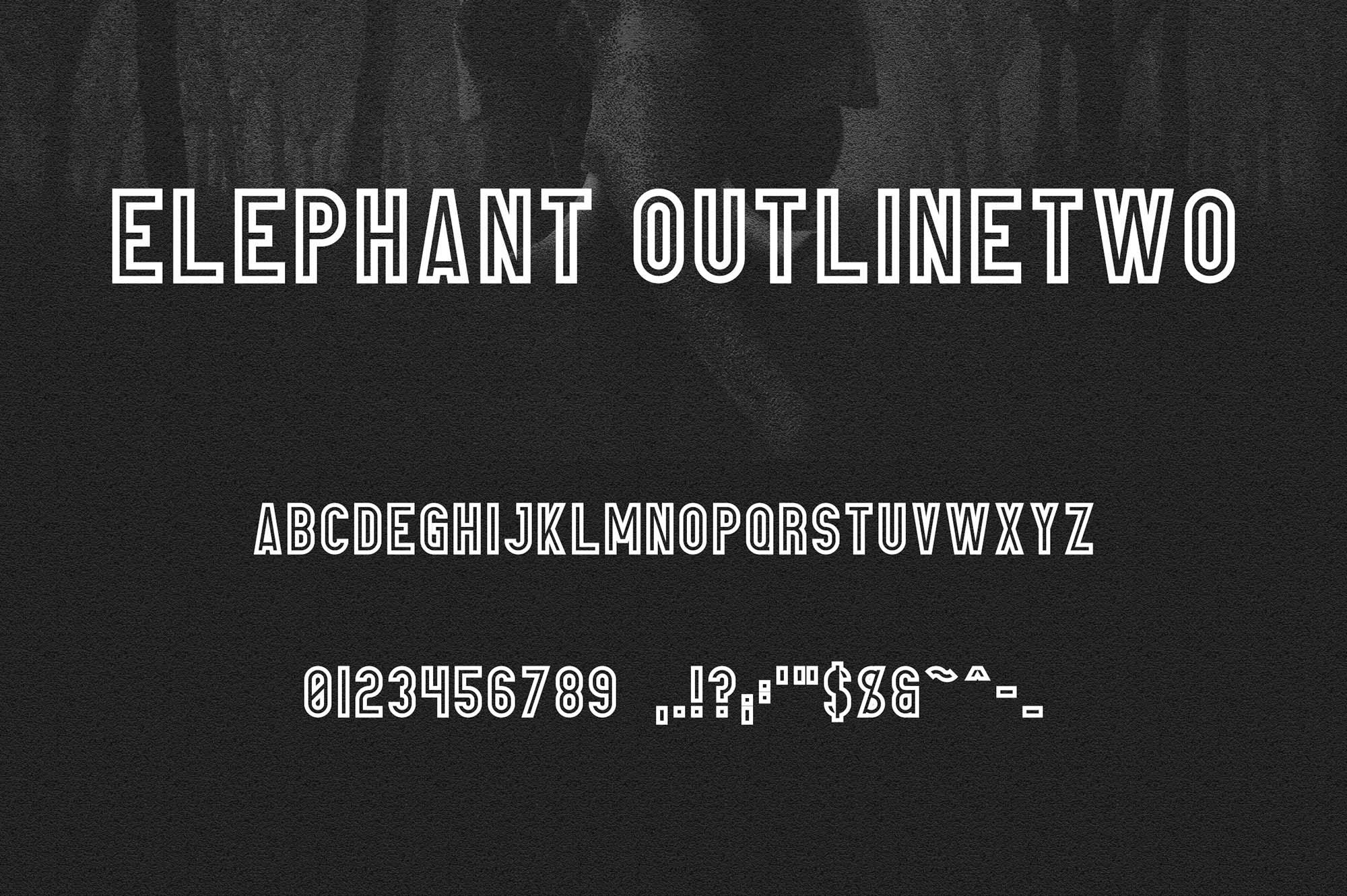 Elephant Fontr