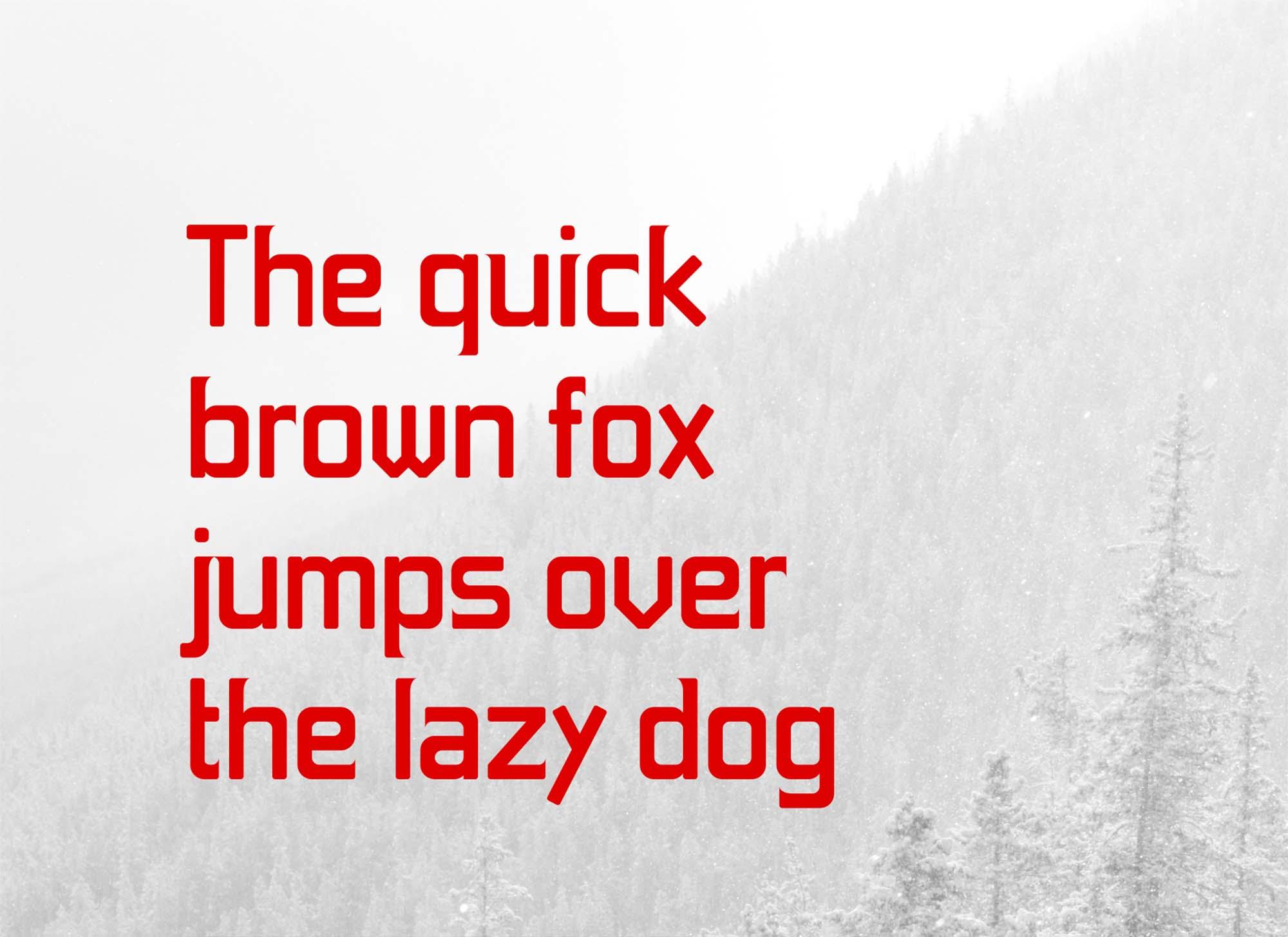Foxy Font Letters