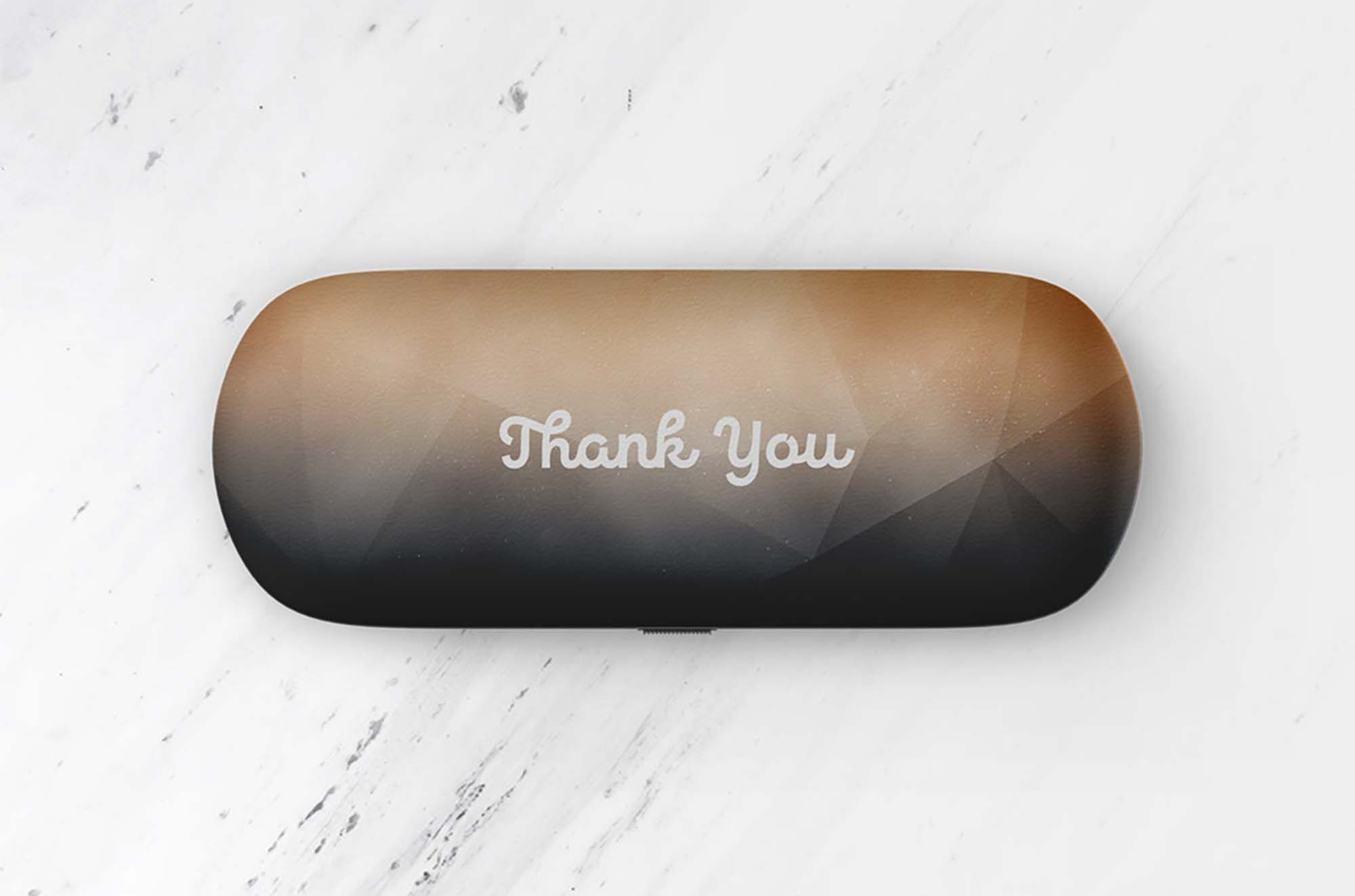 Glasses Case Mockup