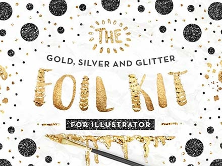 Gold Foil Styles