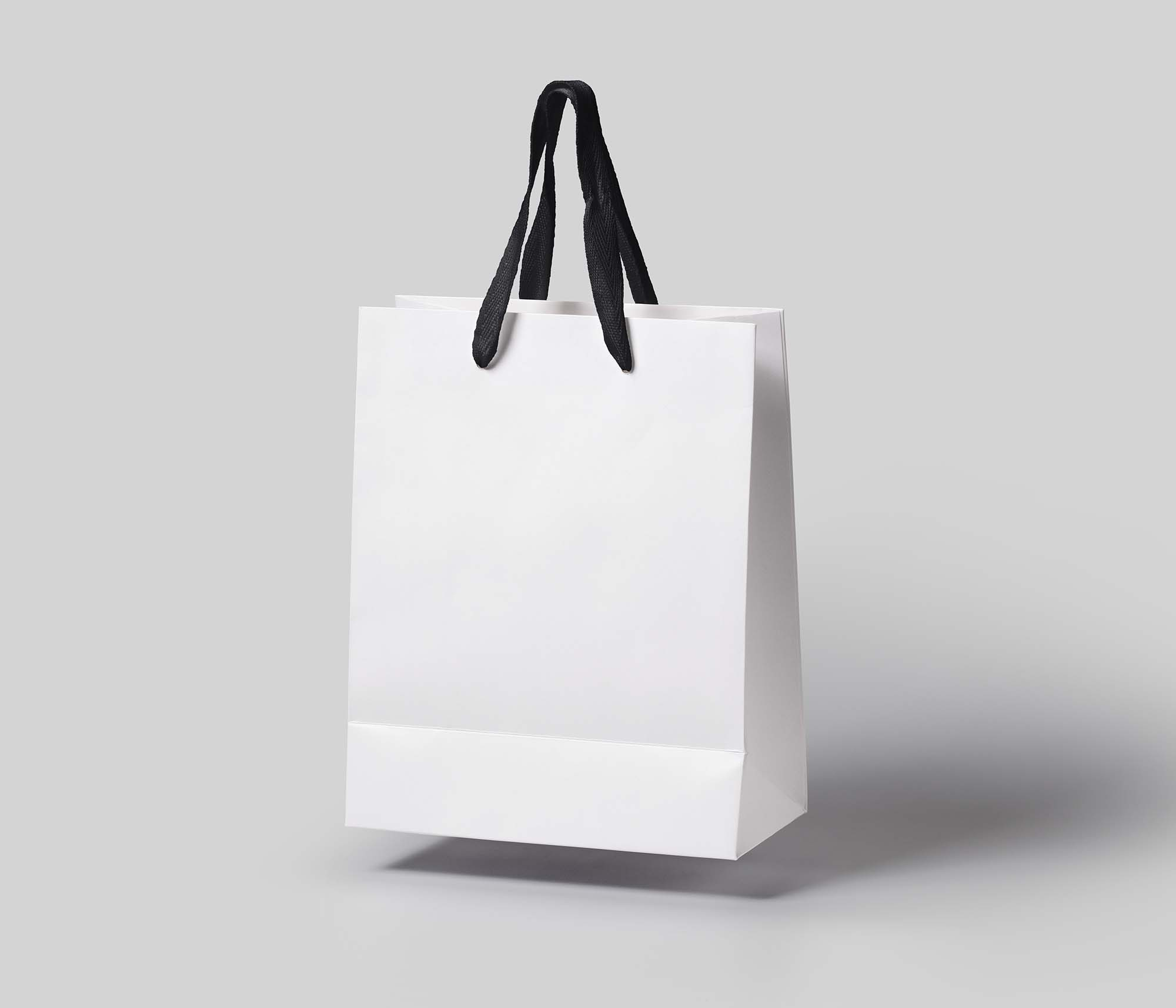 Gravity Shopping Bag Mockup