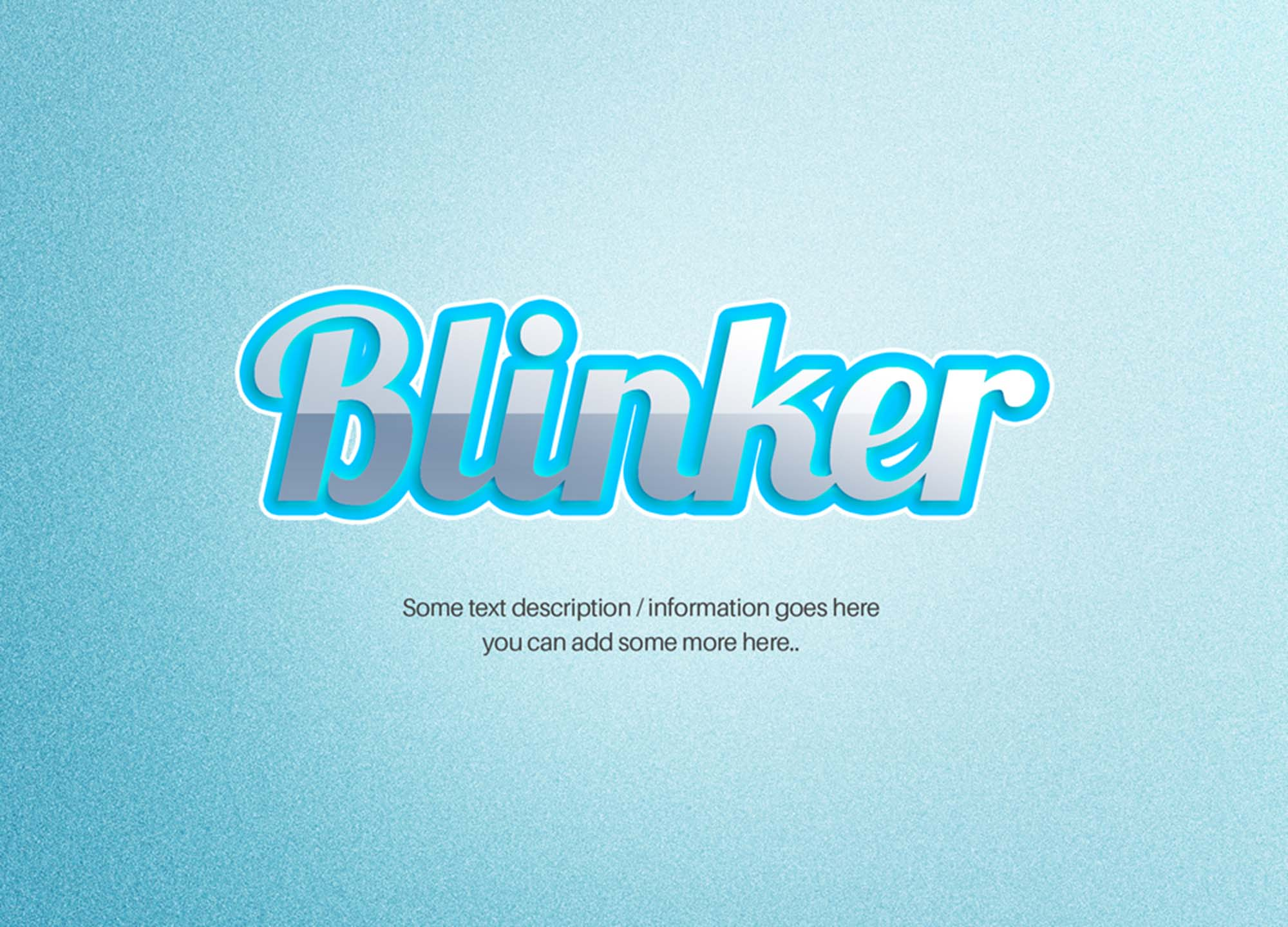 Inset Shiny Text Effect