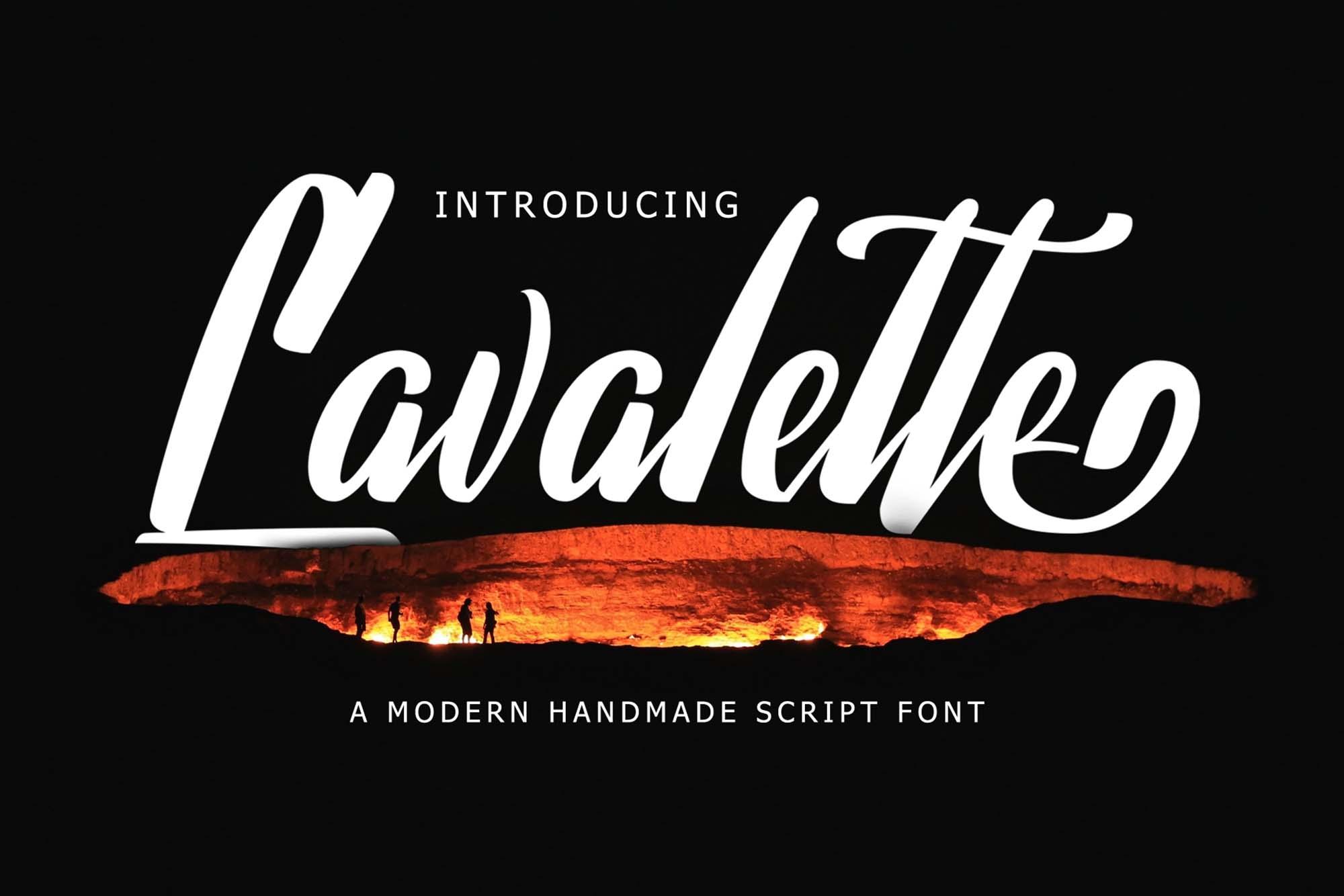 Lavalette Script Font