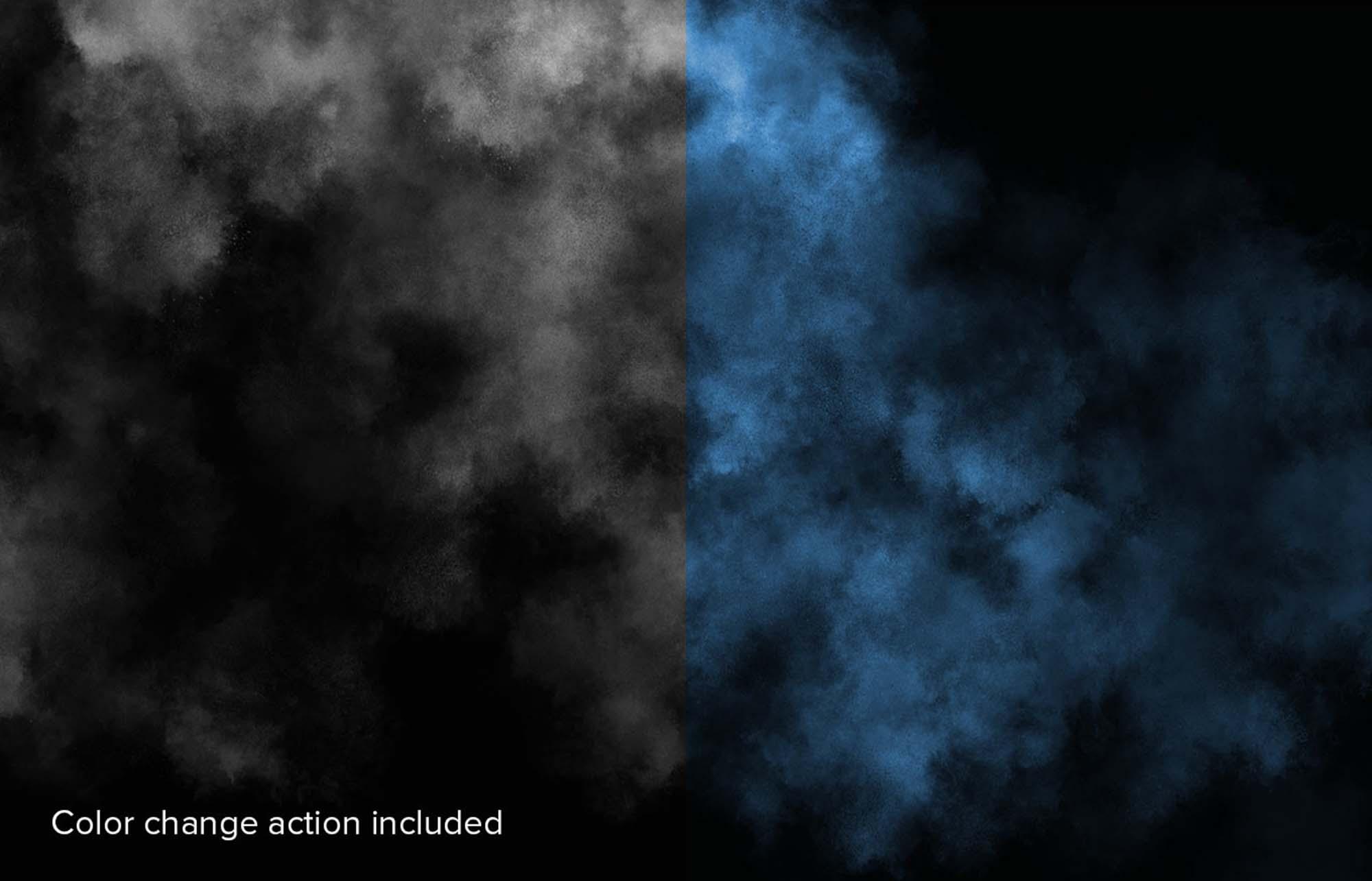 Mysterious Fog Effect Overlay