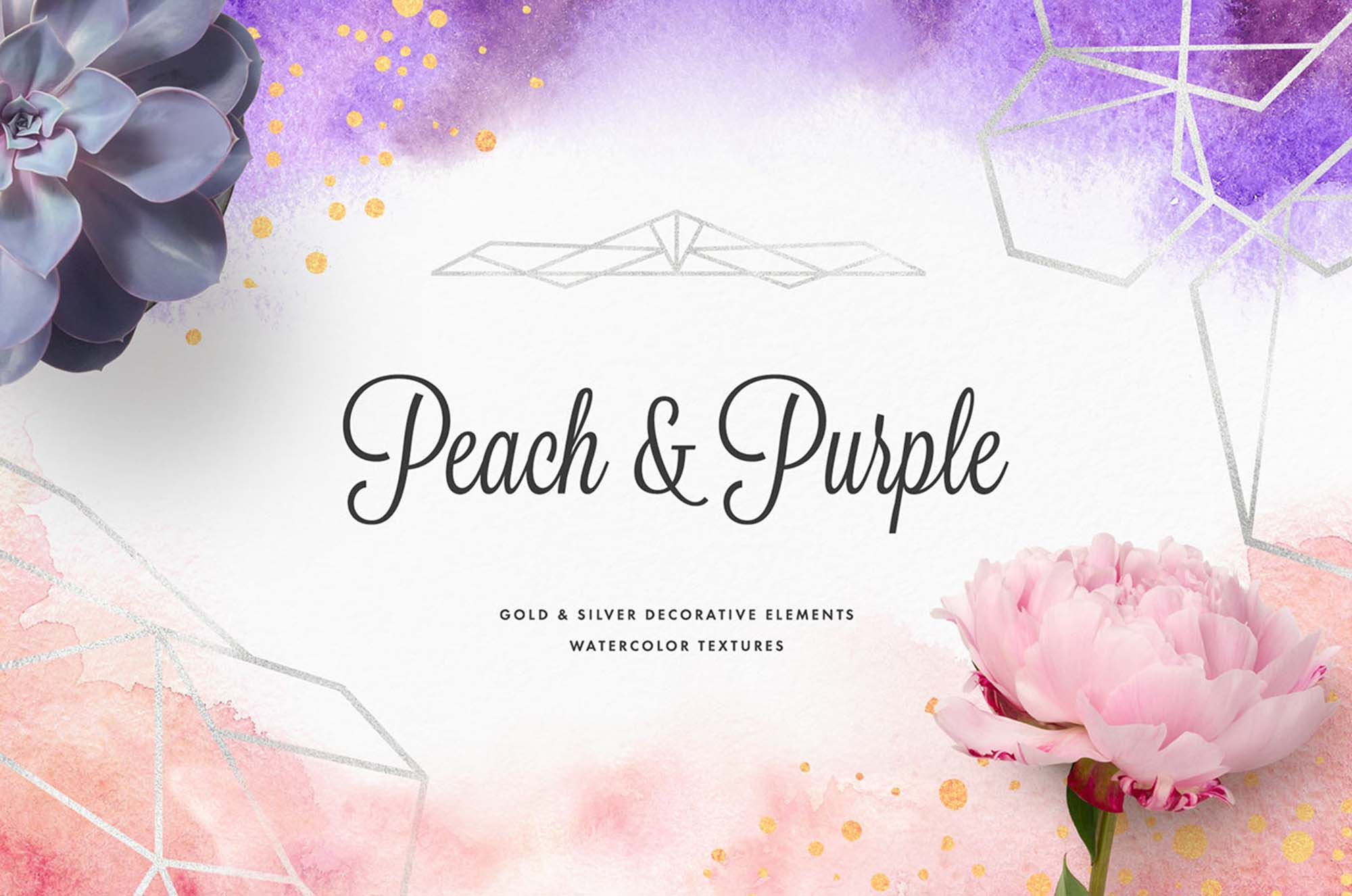 Peach & Purple Artistic Toolkit Template