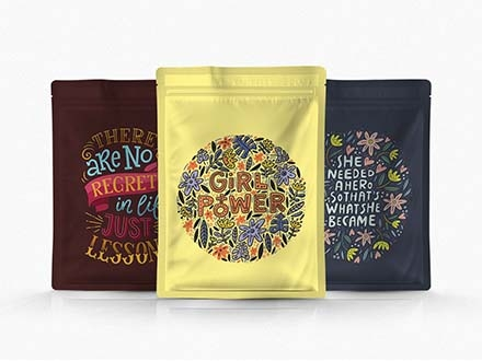 Pouch Package Mockup