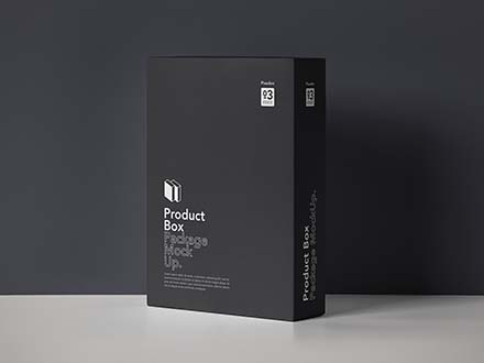 Product Box Package Mockup