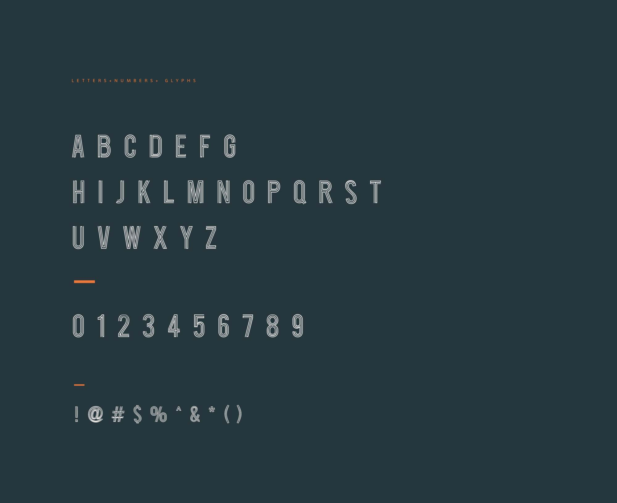 Roadster Font Letters