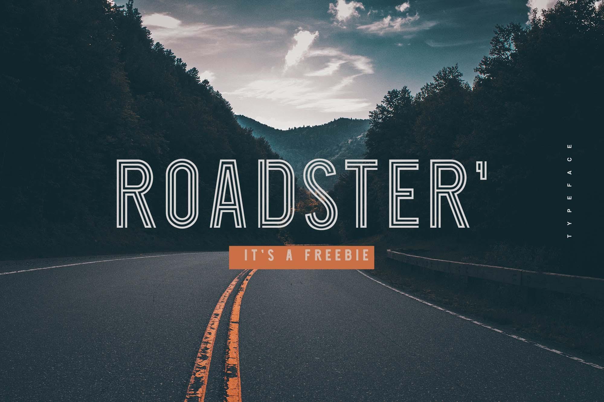 Roadster Font