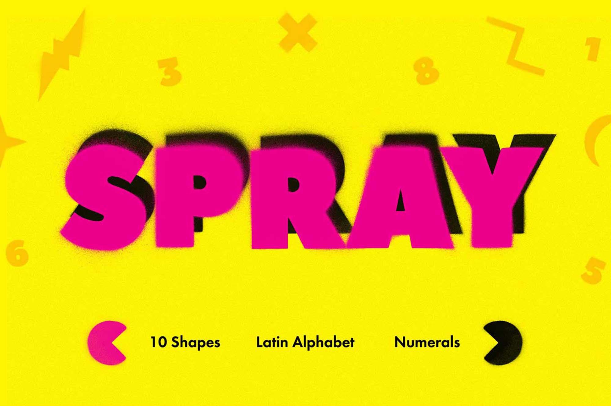 Spray Art Graphics