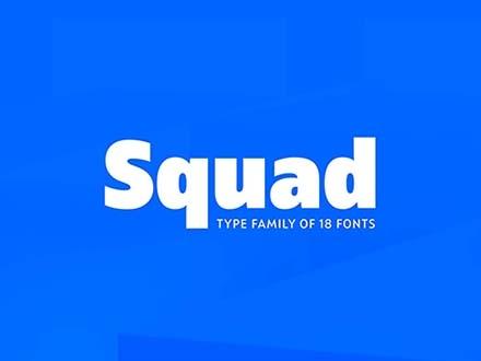 Squad Font Family