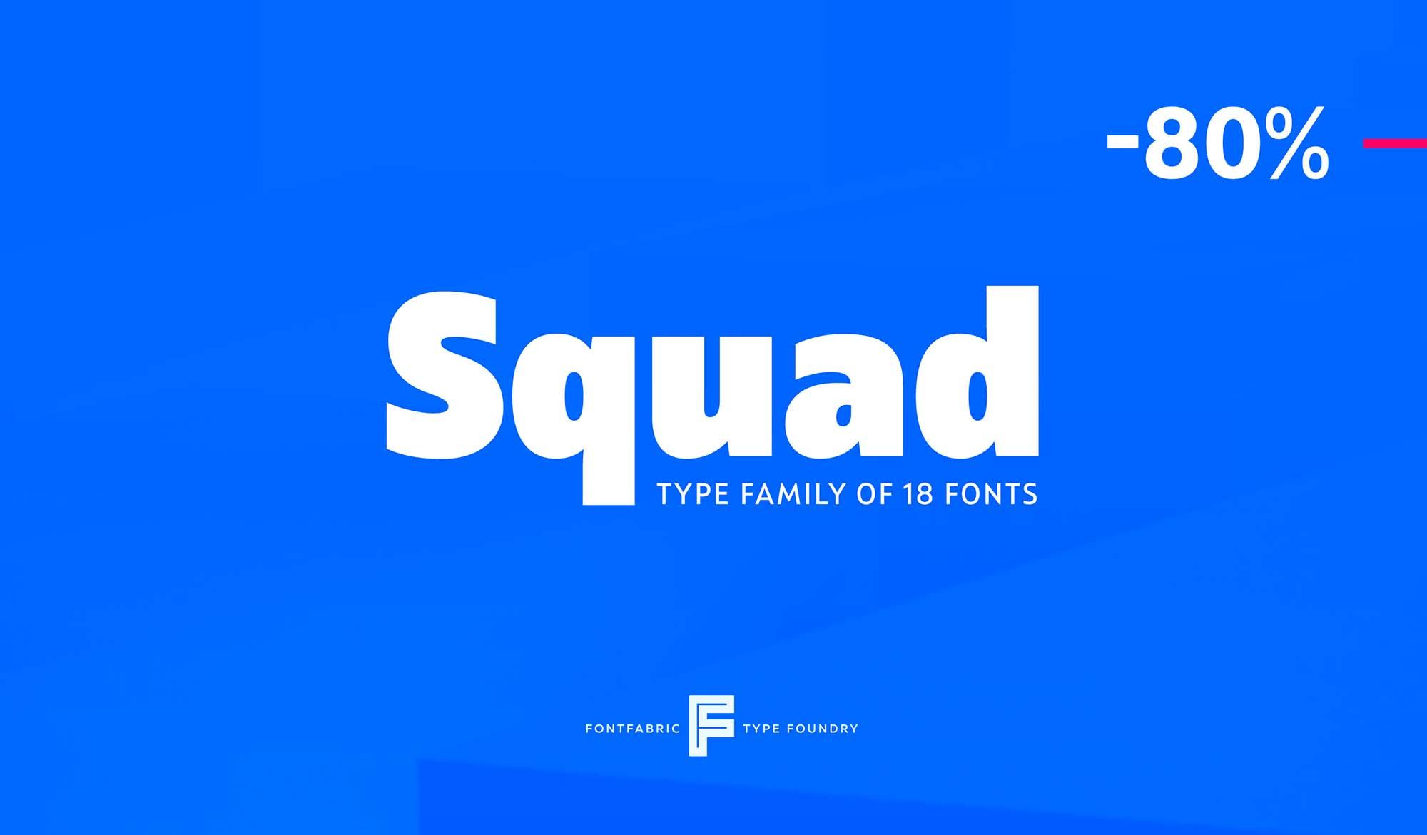 Squad Font