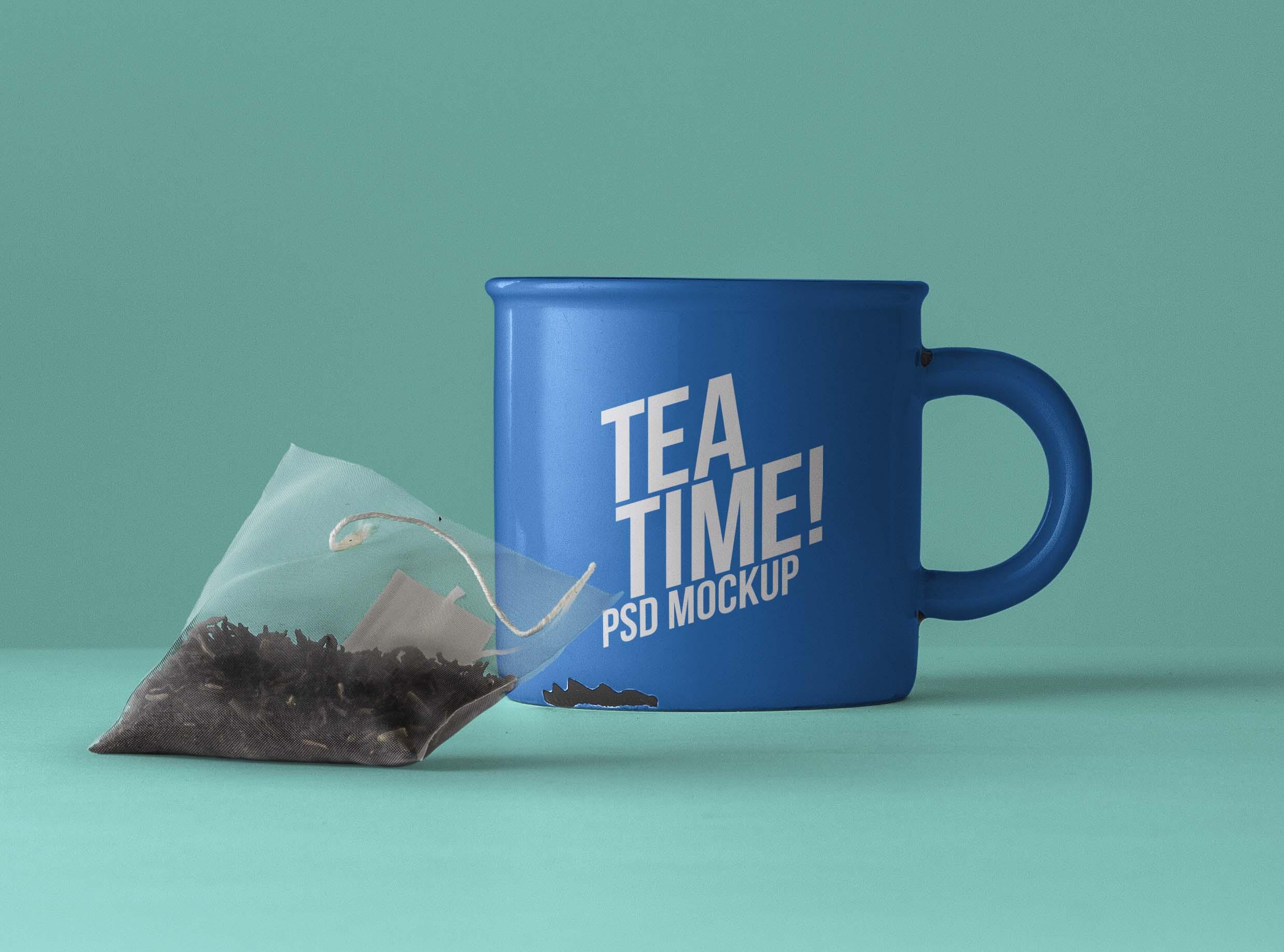 Tea Mug Mockup