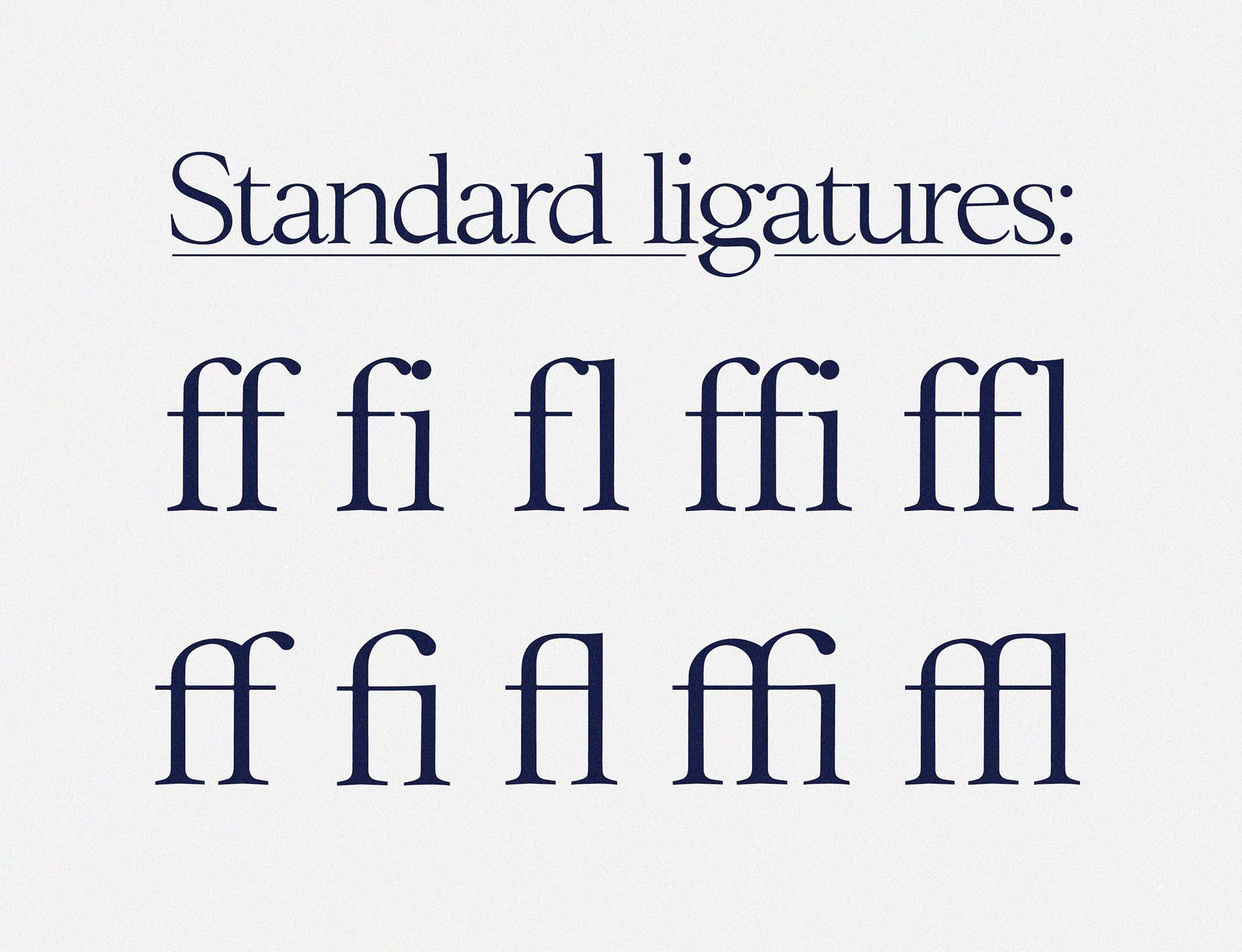 Williwaw Serif Typeface Letters