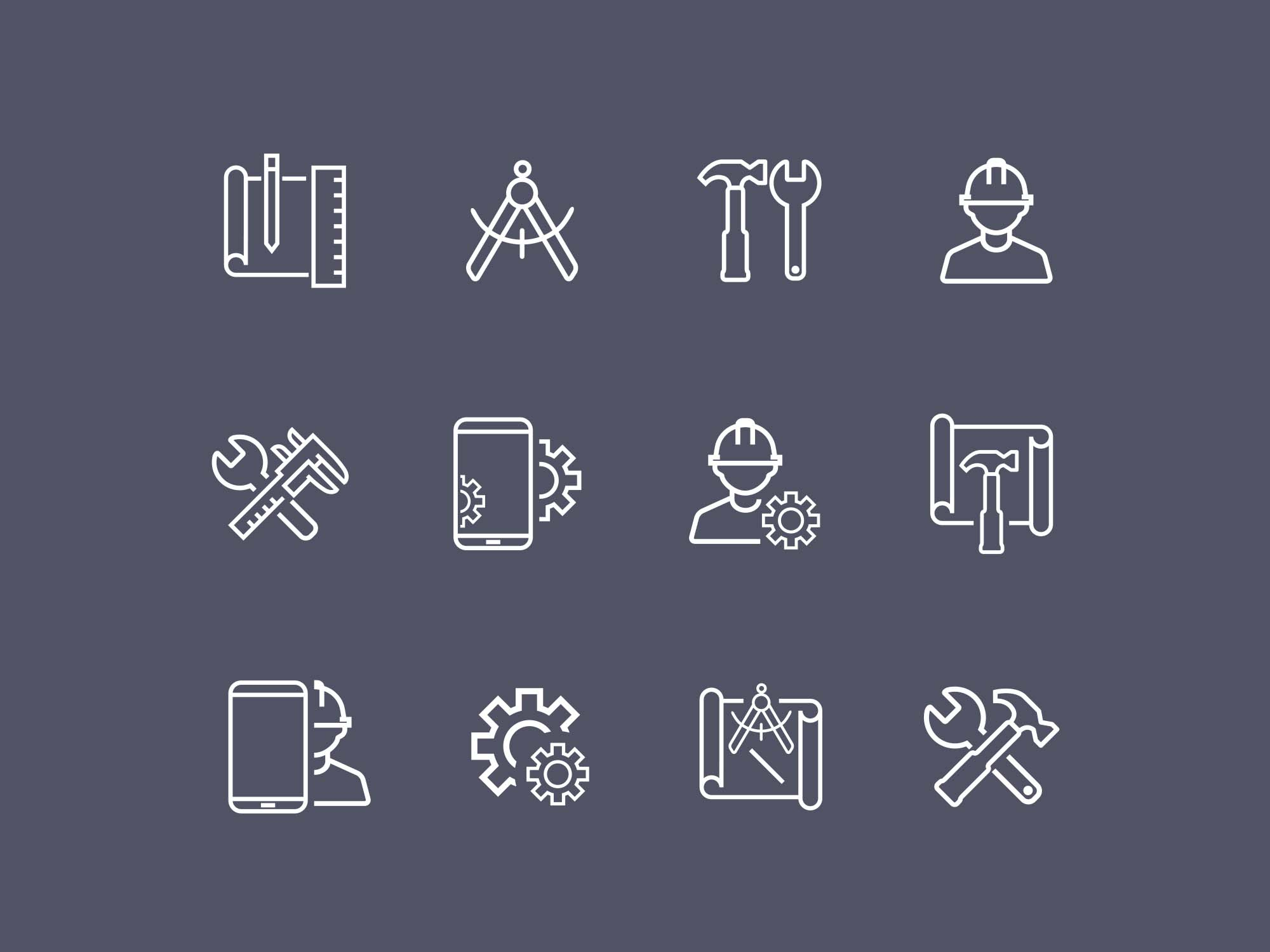 Work Icons