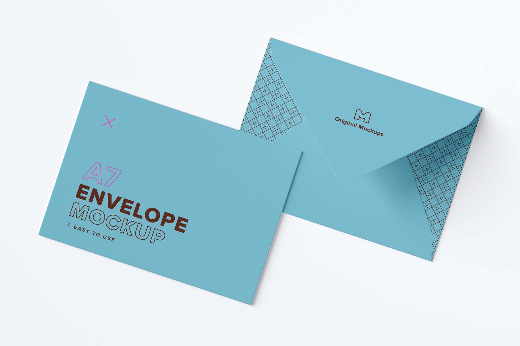A7 Envelope Mockup