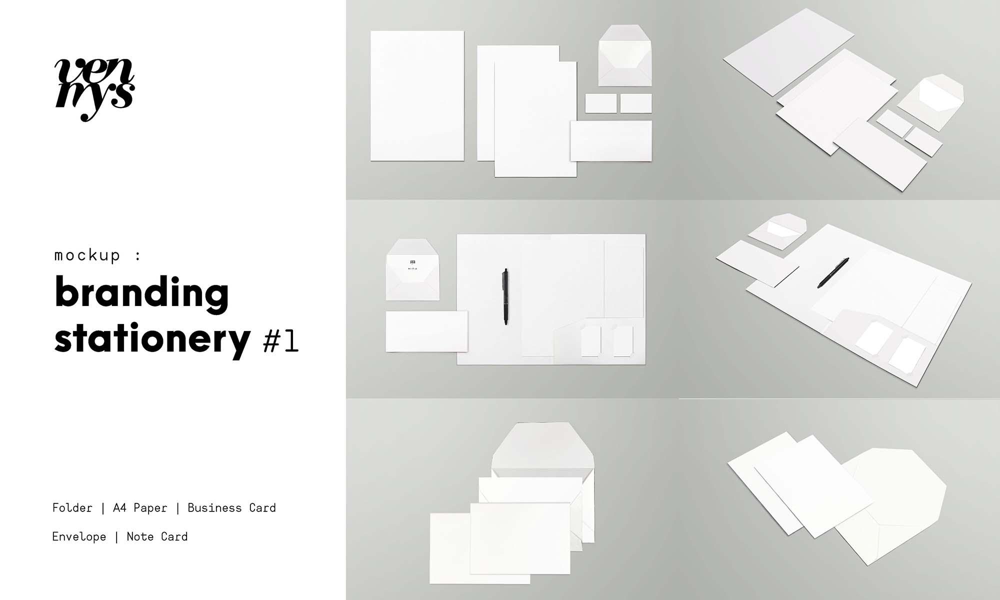 Branding StationeryMockup