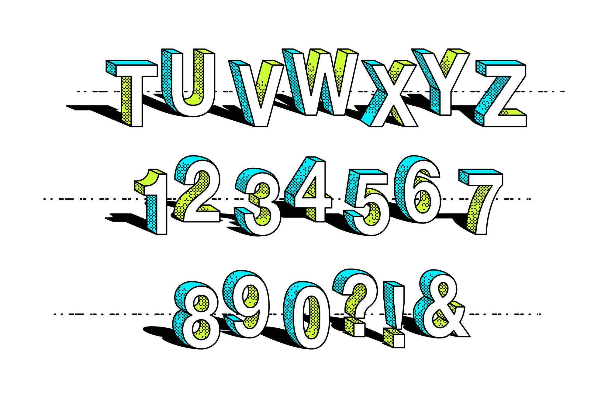 Cartoon Vector Text Effect