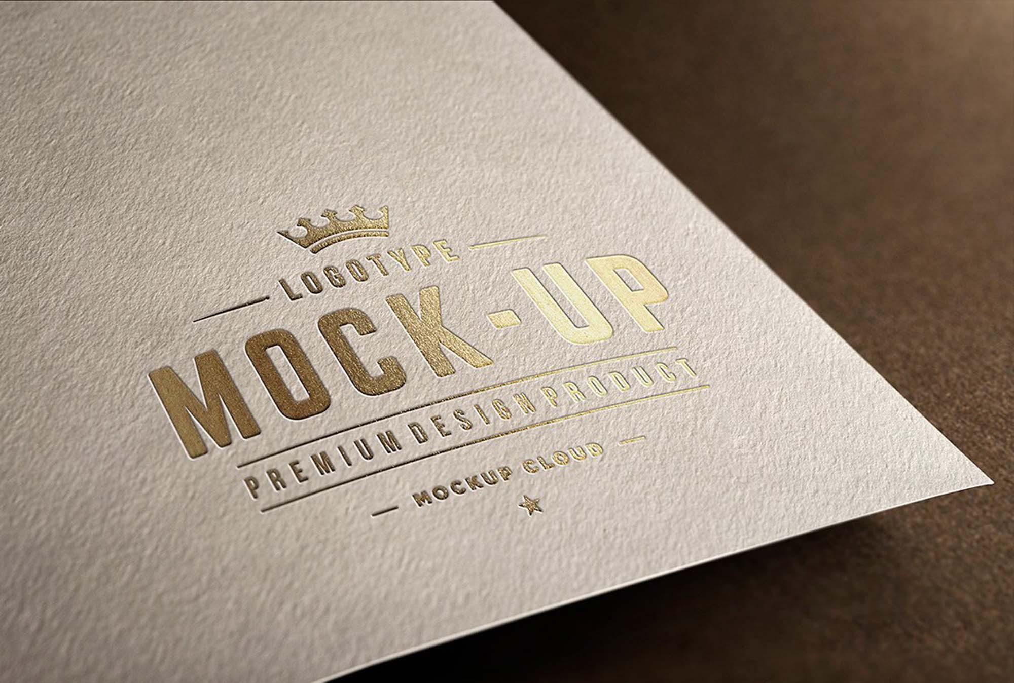 Close-ups logo Mockup