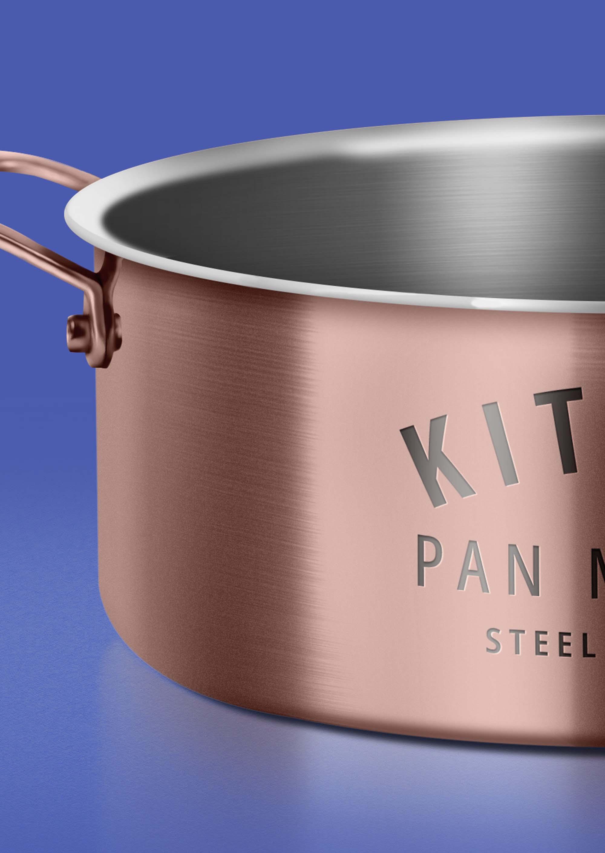 Cooking Pan Mockup