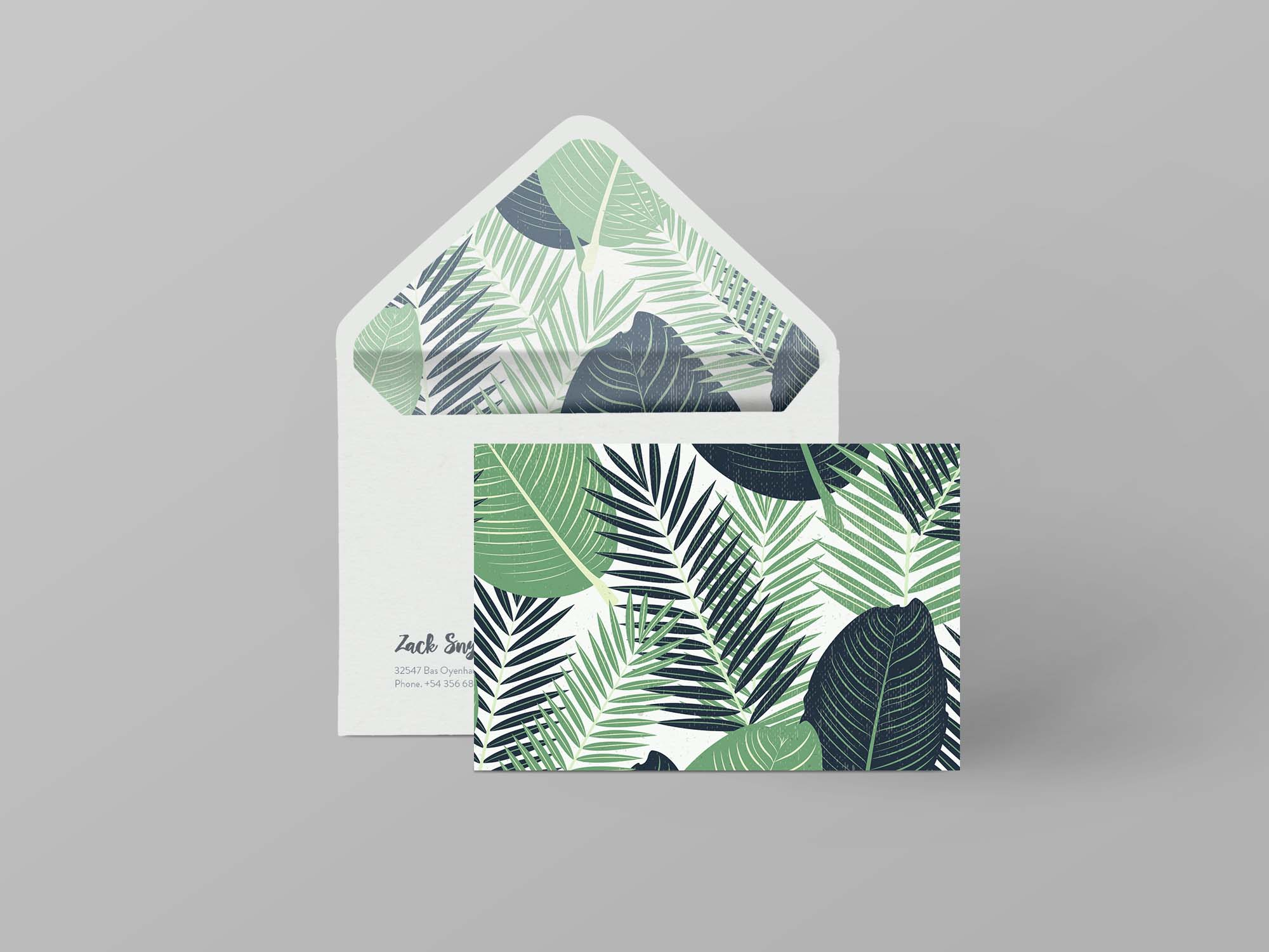 Envelope Branding Mockup