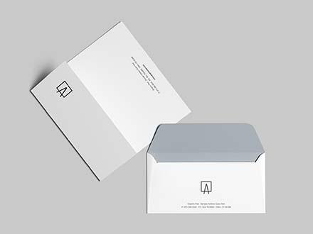 Envelope & Letterhead Mockup