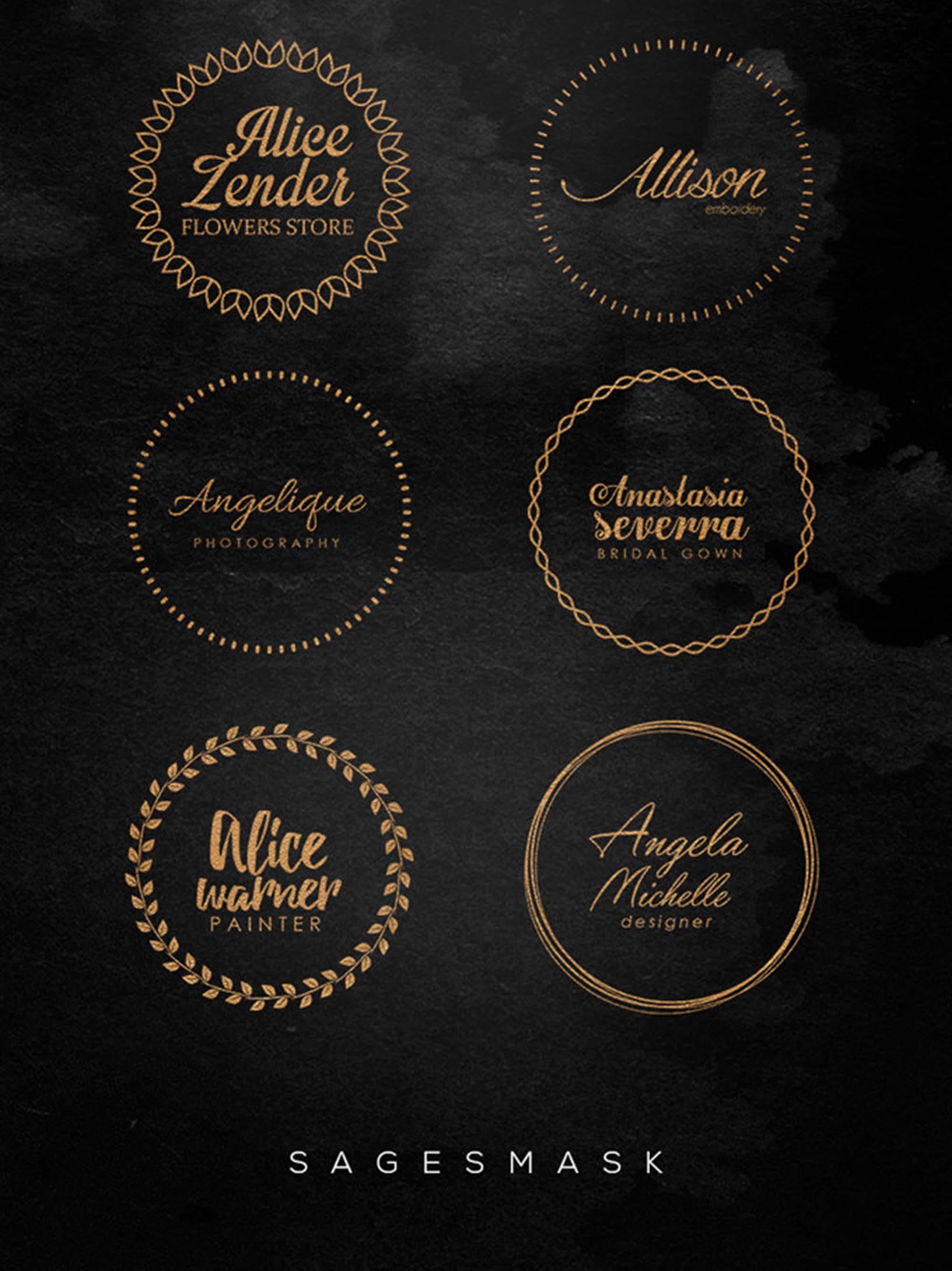 Golden Stamp Badges