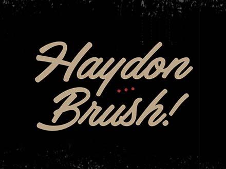 Haydon Brush Font