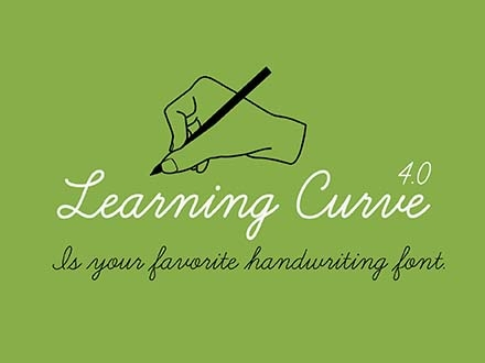Learning Curve Font