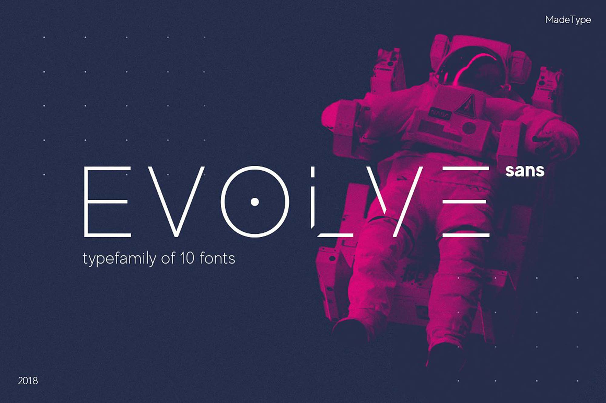 Made Evolve Font