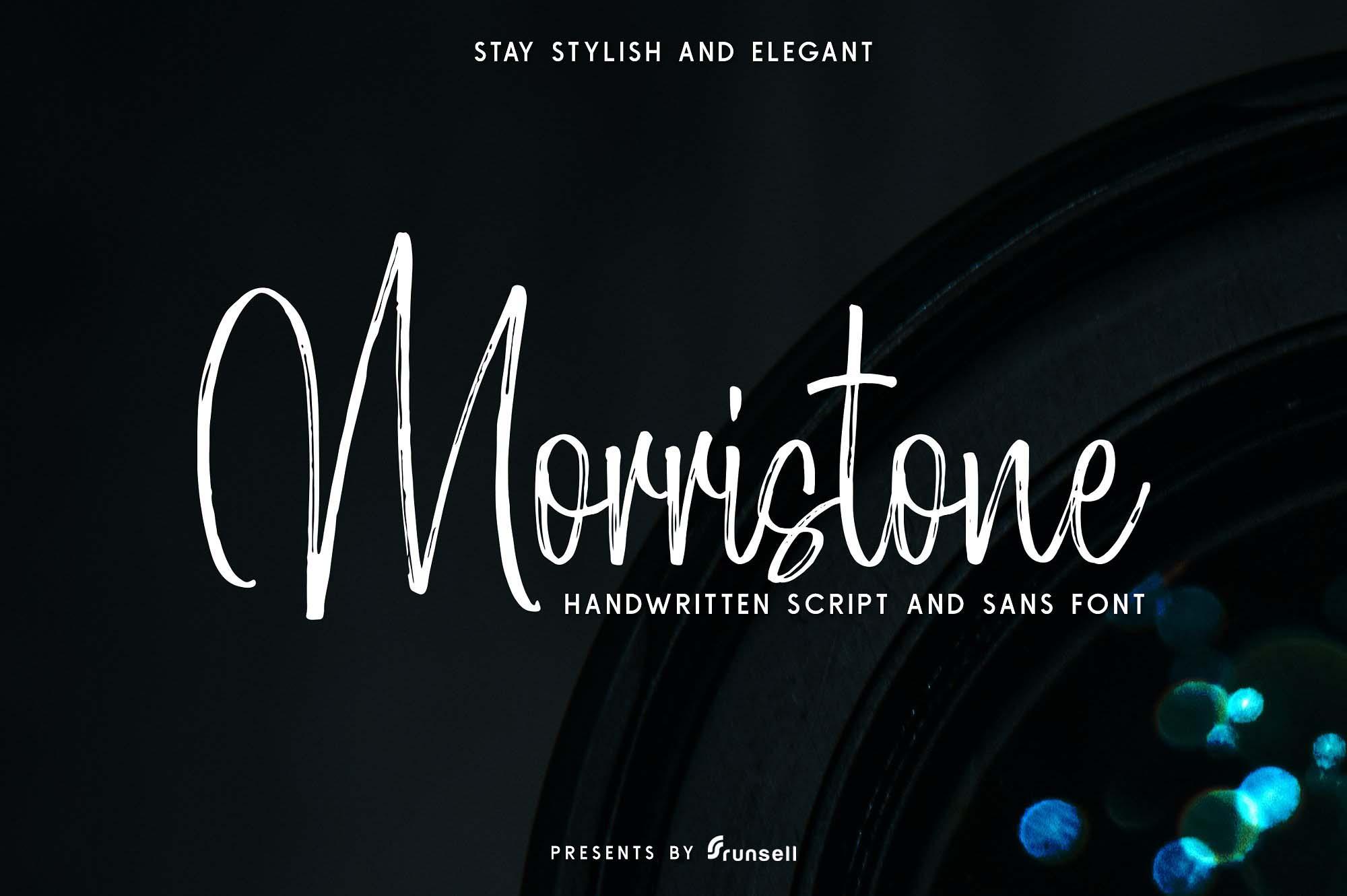 Mortistone Font