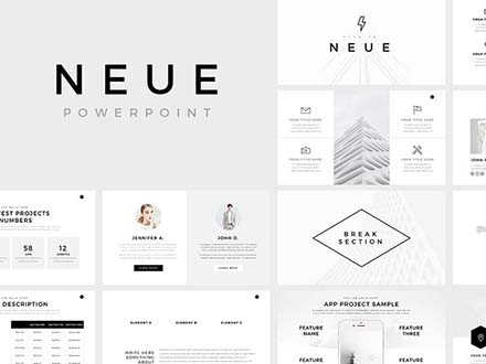 Neue PowerPoint Template 0