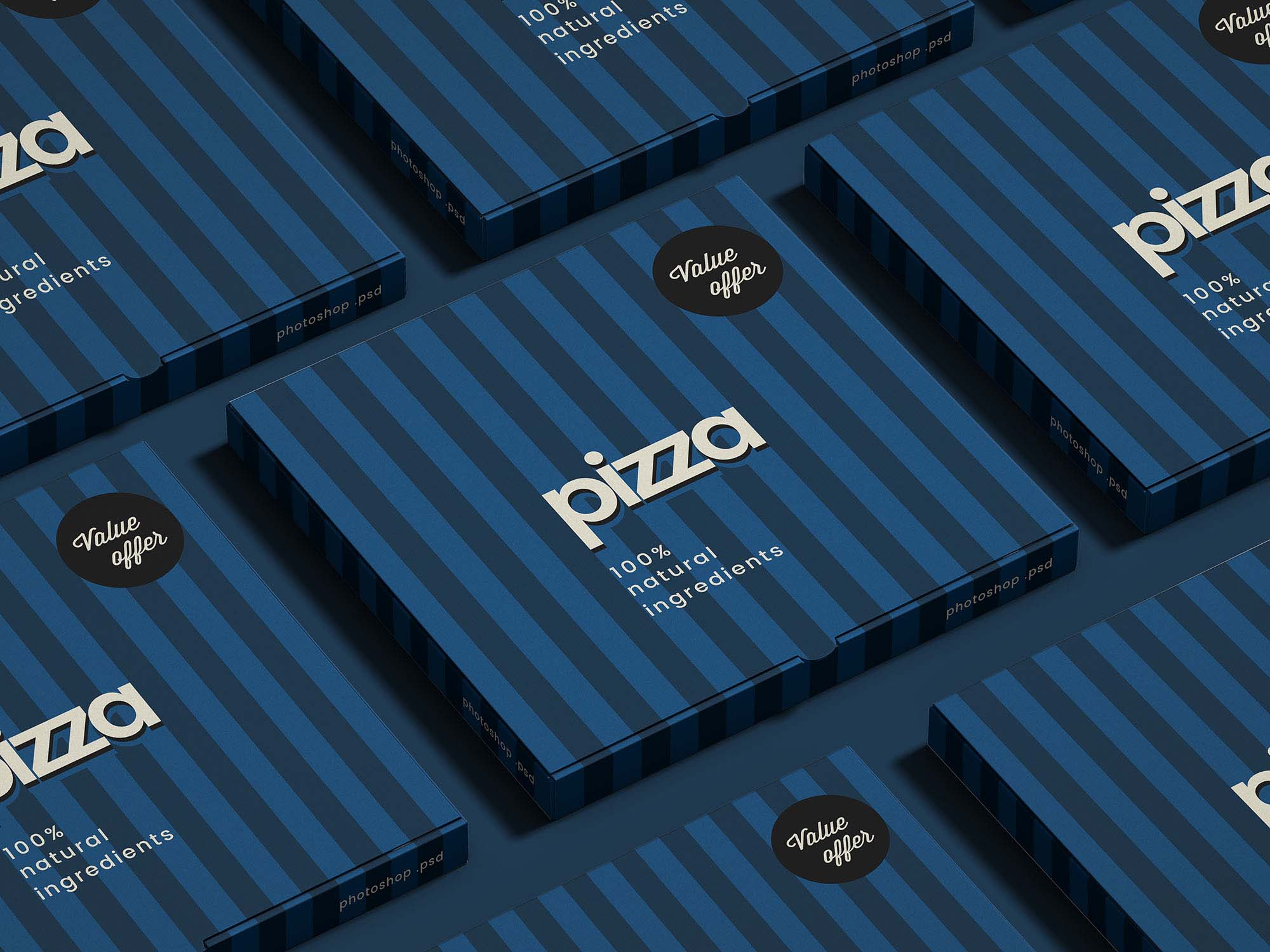Pizza Package Mockup