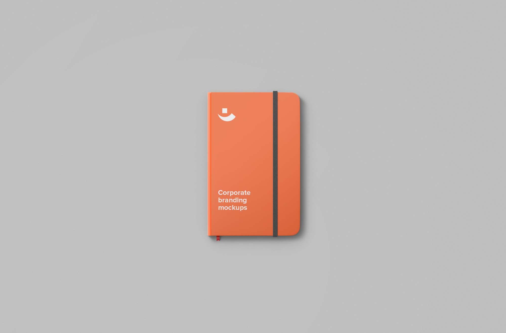 Stationery Notebook Mockup