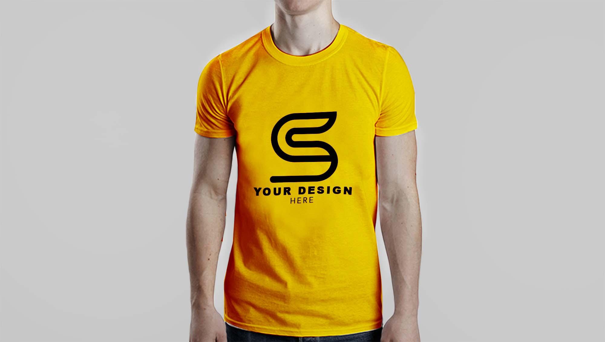 Men T-Shirt Mockupv