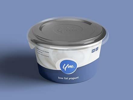 Yogurt Package Mockup