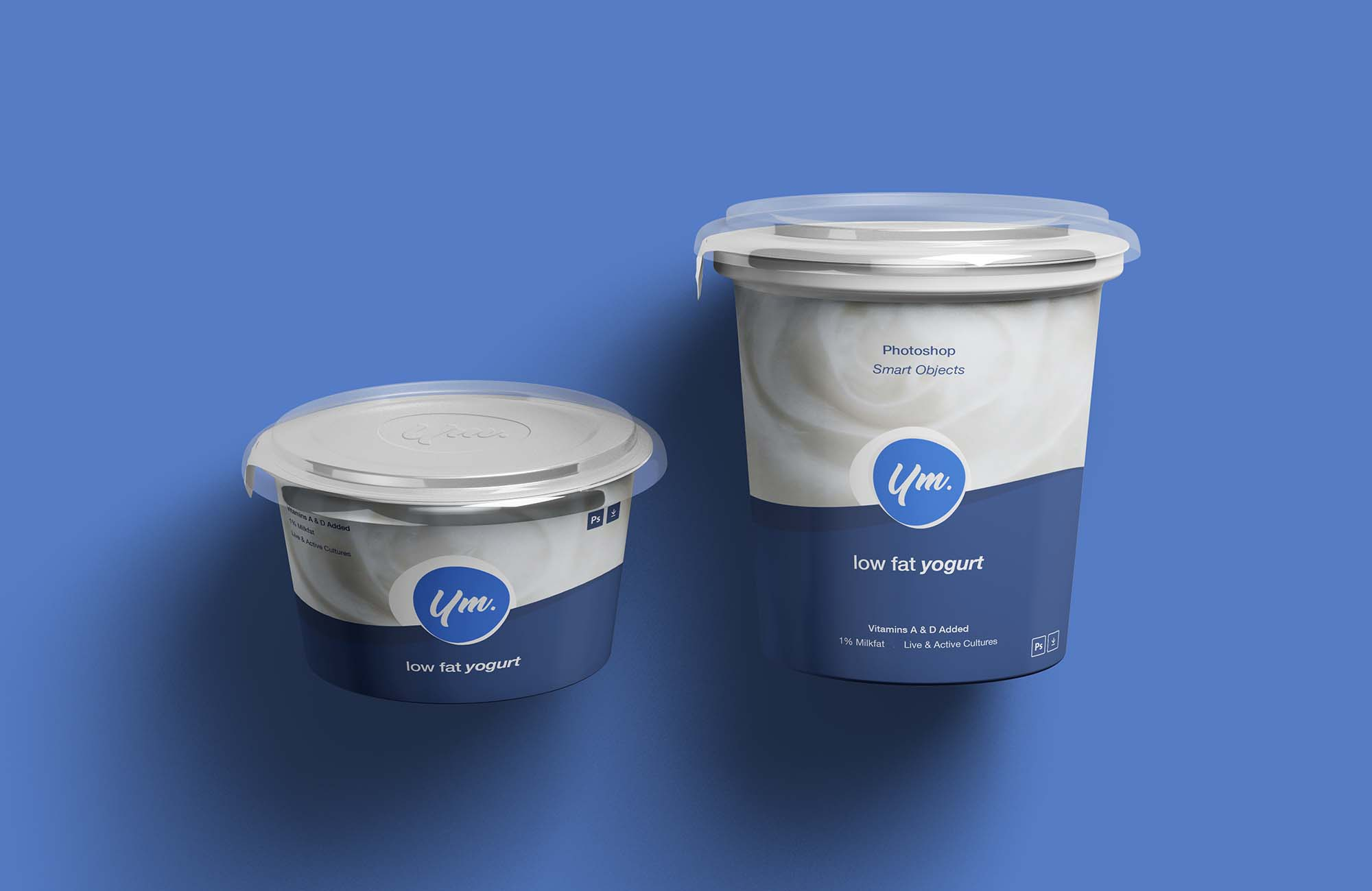 Yogurt Package Mockup