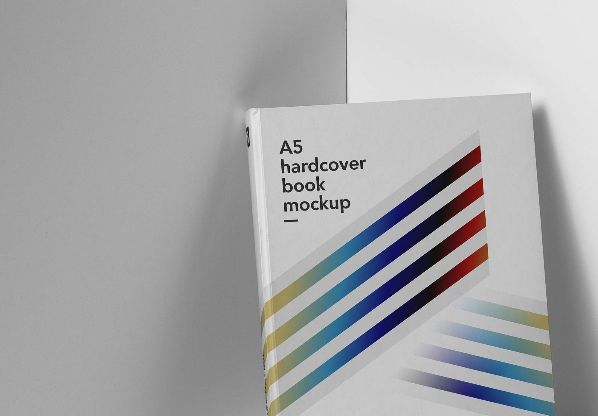 A5 Hardcover Book Mockup