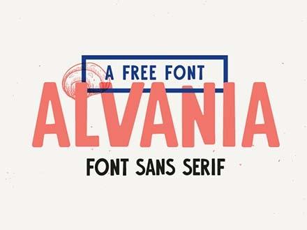 Alvania Font