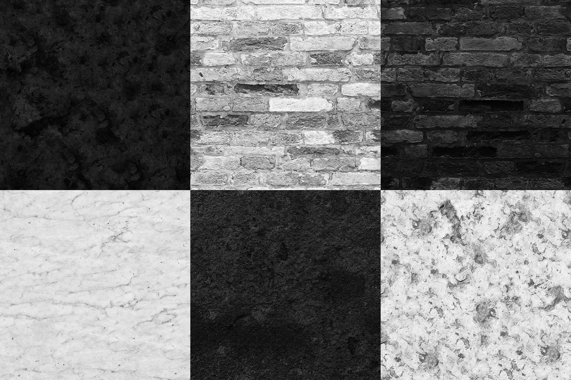 Black & White Seamless Textures