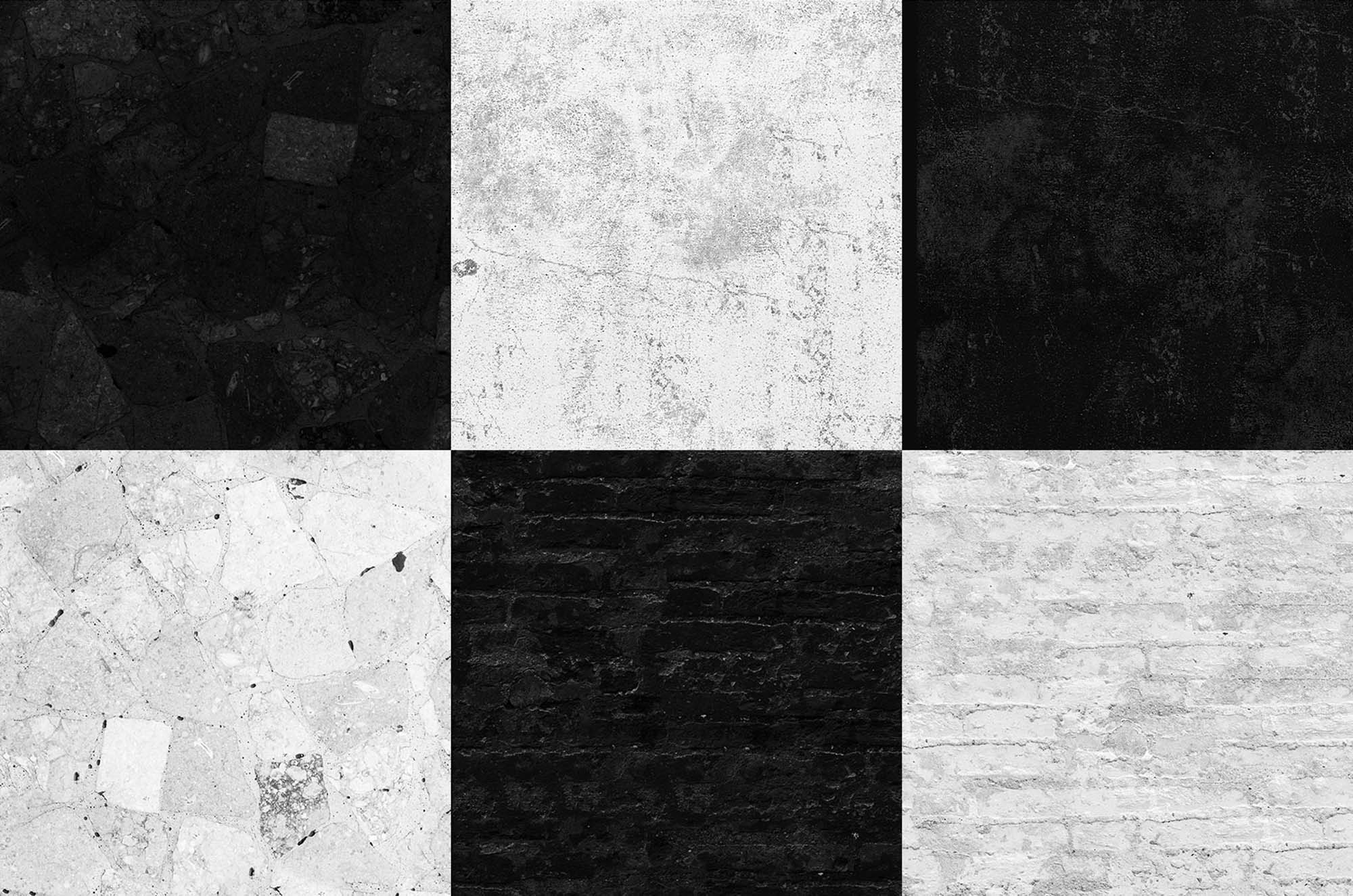 Black & White Seamless Textures