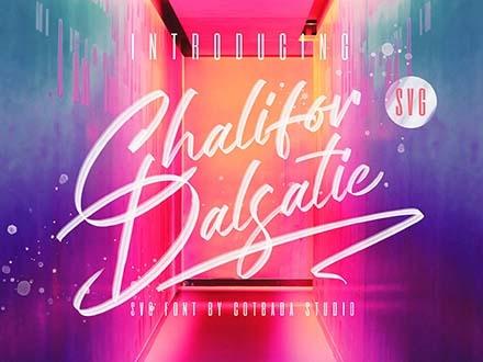 Chalifor Dalsatic Font