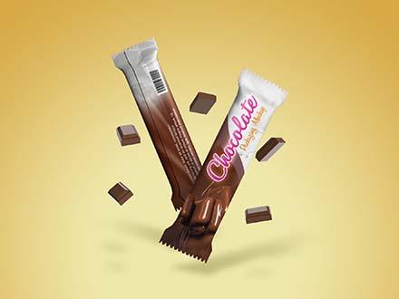 Chocolate Pack Mockup