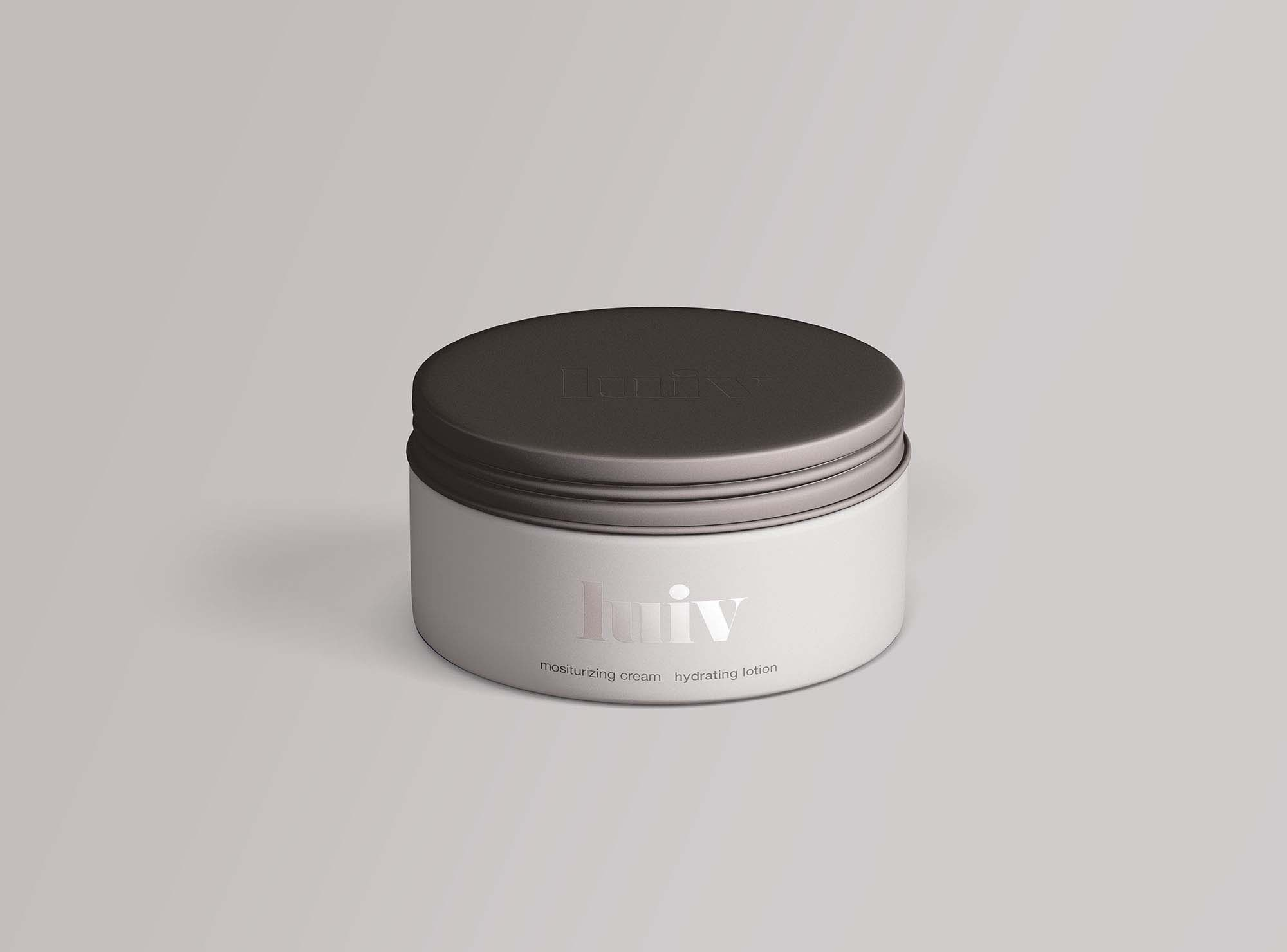 Cosmetics Jar Mockup