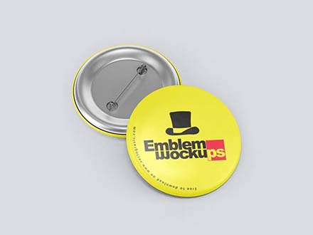 Emblem Badge Mockup