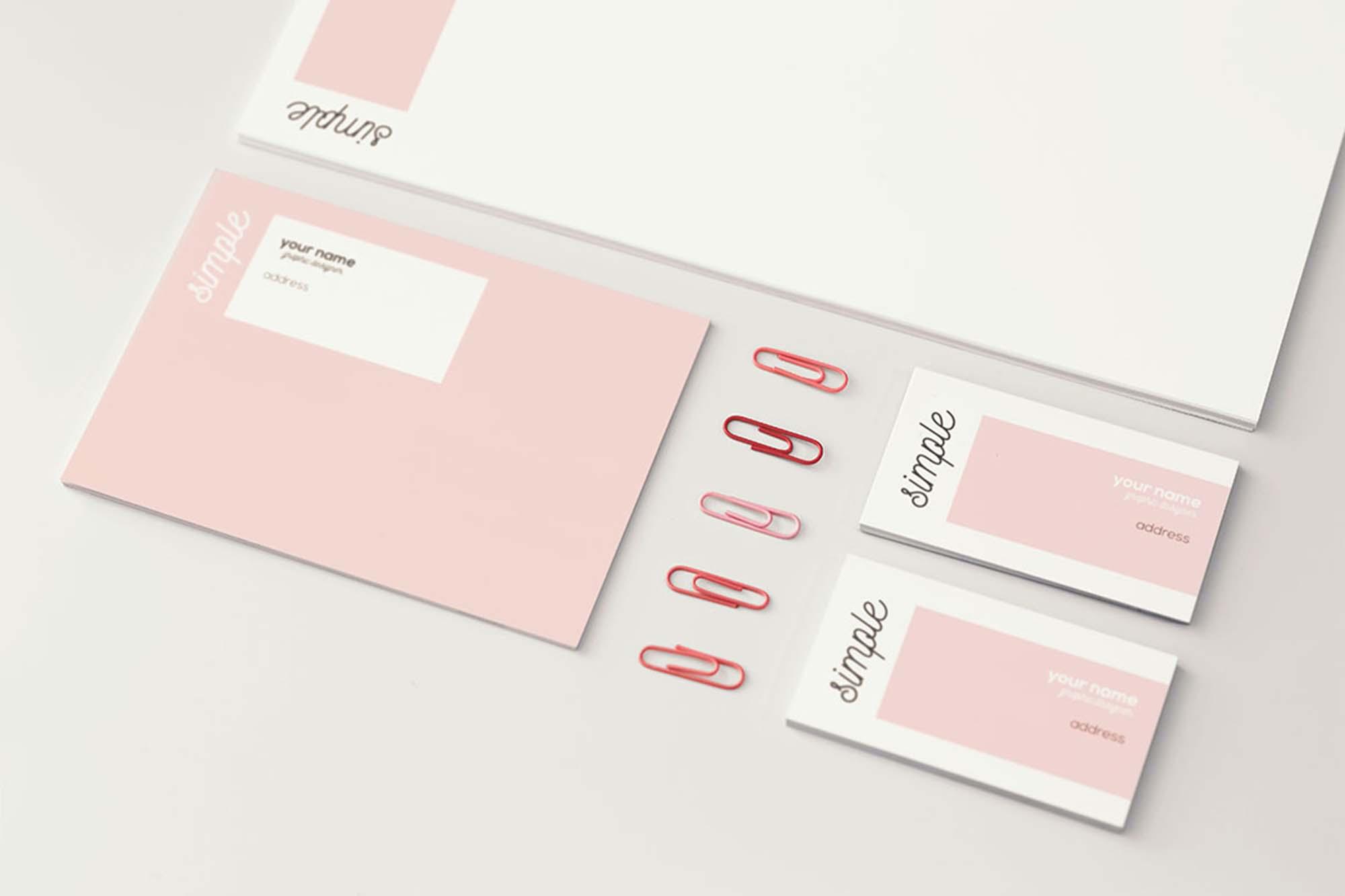 Feminine Branding Mockup