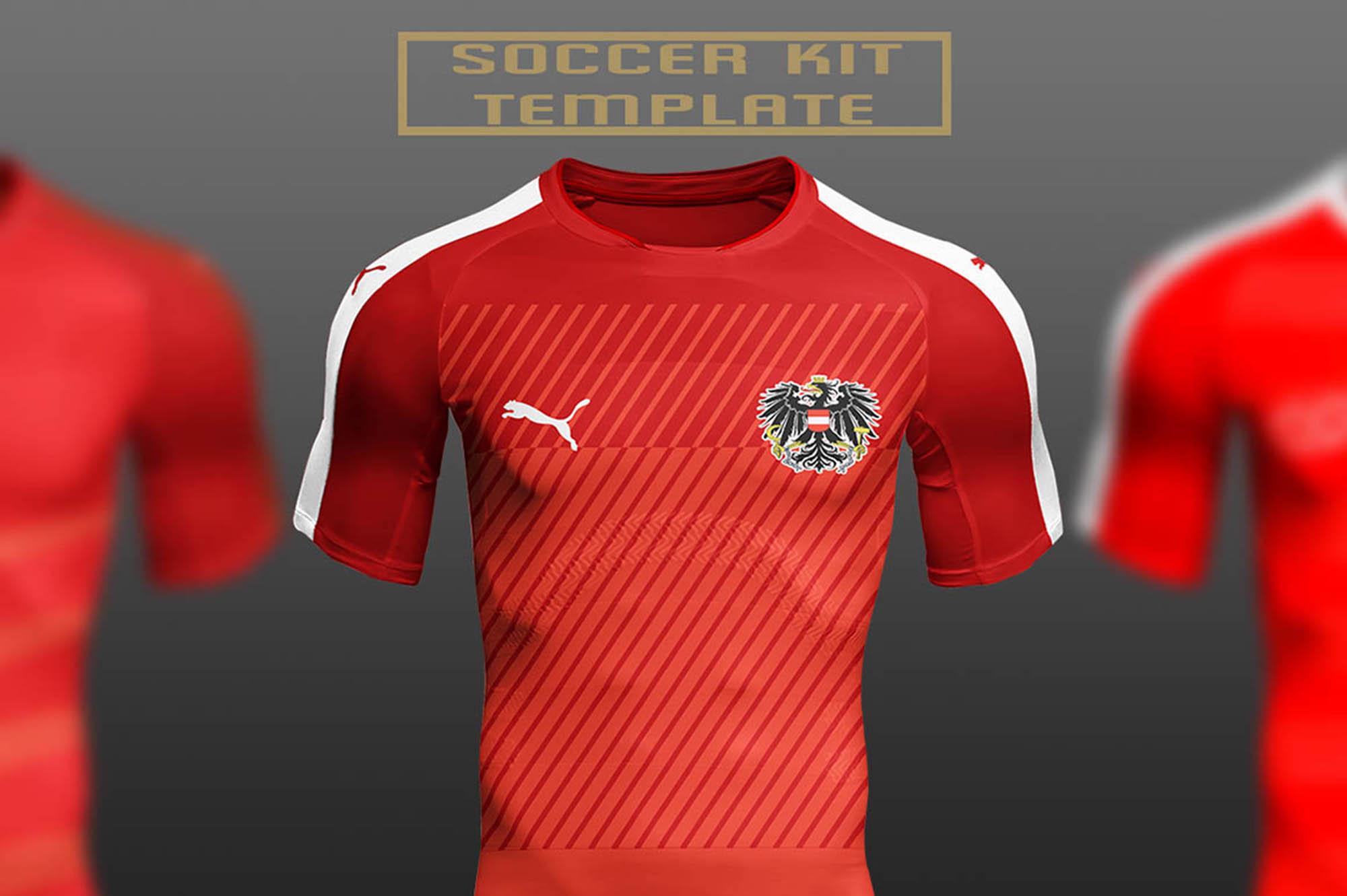 Football T-Shirt Mockup